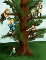 Winner's choice-HTTYD-The Tree by silkenstarrs