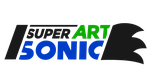 New Super Sonic Art Logo by NuryRush
