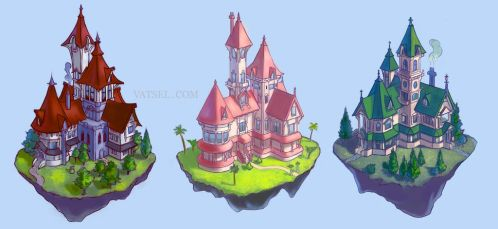 Which one would you live in? by Vatsel
