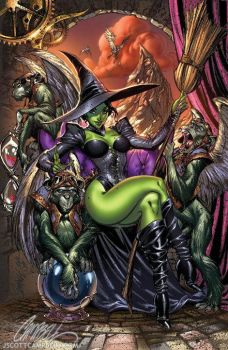 Wicked Witch by ToolKitten