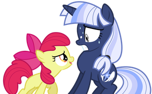 Vector: Silverlay + Apple Bloom by EStories