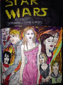 2002 Star Wars Ep 8 poster by Selinelle