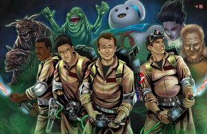 Ghostbusters by TyrineCarver