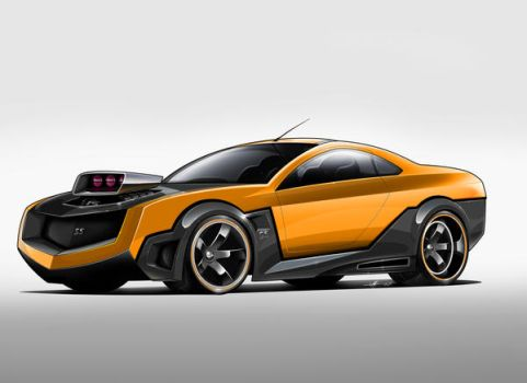 Camaro SS concept by yamell