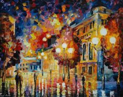 Predestination by Leonid Afremov by Leonidafremov