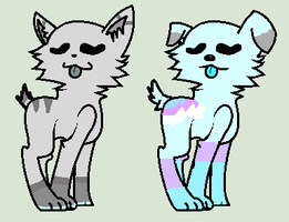 [/closed\] dog and cat adopts 0/2 by Violeta-Adopts