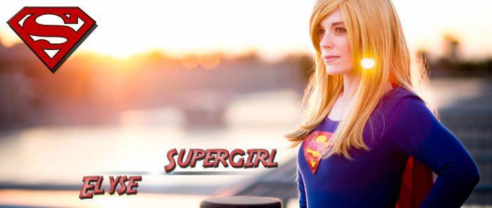 Supergirl Ultra-wide by DataSavage