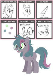 MLP Pony Generator Adopts - Emerald Moon by xavs-pixels