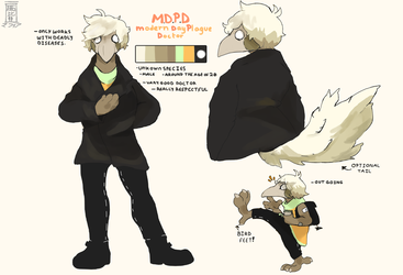 MDPD reference by deer-mafia
