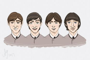 Fab Four by kuabci