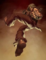Streetfighter: Ken Masters by Markovah