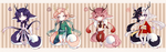 [CLOSED] Tea Dragon Auction Adopts by AJRoanoke