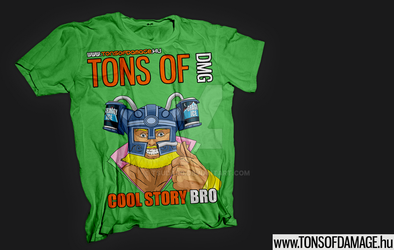 Old T-Shirt contest entry #1 by TSUDAR0