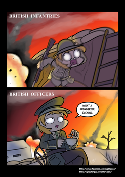 Brit soldiers by Prosterguy