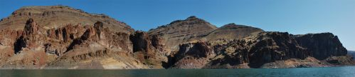 Lake Owyhee Red Cliffs by eRality