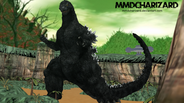MMD Newcomer - PS3/PS4 Godzilla +DL MOVED+ +VIDEO+ by MMDCharizard
