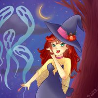 It's a spooky night. by MsCappuccino