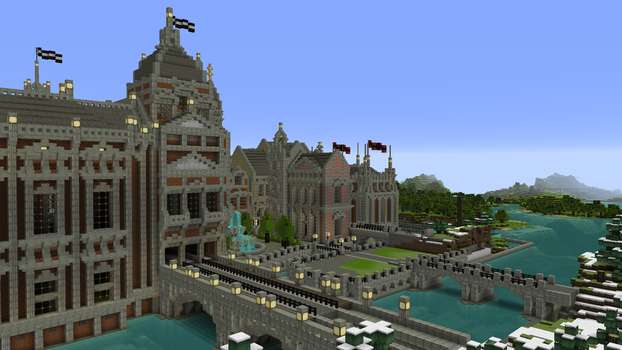 new canal is finished by Wuhu7