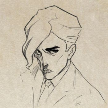 Two Face sketch by Mro16