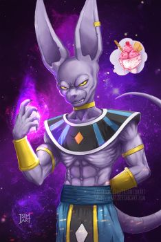 Beerus sama by JasonsimArt