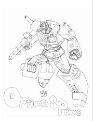 G1 Optimus Prime by Dragonsflame2000