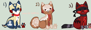 Puppies Adoptable Batch 1# -Closed- by LuckyCloverAdopts