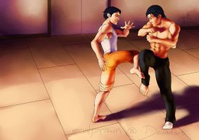 Some Friendly Sparring by perpetualperversions