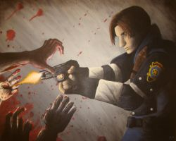 Leon Kennedy by Nick-McD