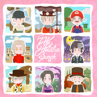 The Hetalia Bunch by GhostoftheCarousel