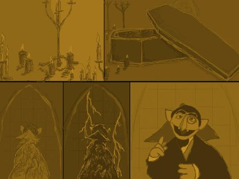 count von count comic by infernalfuries