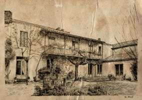 House old paper by nicolasjolly
