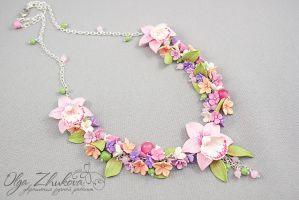Set with orchids by polyflowers