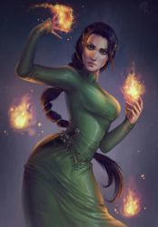 Kiyosa Aes Sedai Commission by merely-A