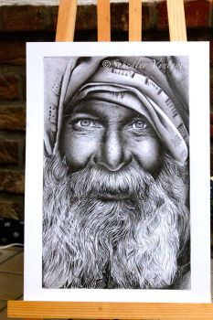 Old man -  Completed . by Cap007