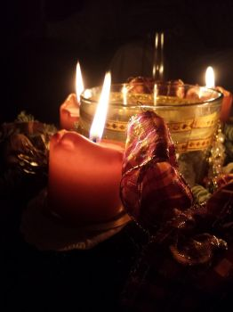 Candlelight on Christmas by Pade93