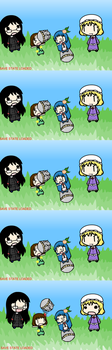 Such a Boss at Touhoumon by smileeme34
