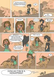 Total Drama Kids Comic pag 28 by Kikaigaku