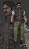 Resident Evil (HD) Enrico Marini by thePWA