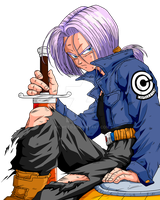 Future Trunks by Michsto
