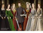 The Tudors by zozelini