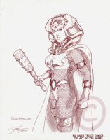 02082010 Big Barda by lilzart