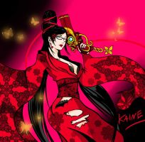 Bayonetta's Red by KAINEGlacium