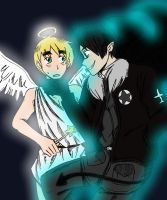 APH- Angel and Devil by InsaneHamburgers