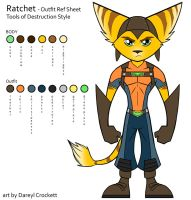 Ratchet Style Ref - Outfit 2 by ideallyRANDOM