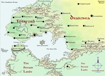 Land Map by astomious