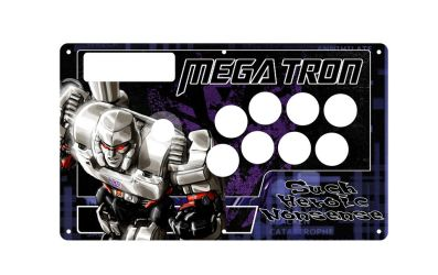 megatron fightstick template by bonsaw on deviantart