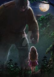 girl and giant by elsbro