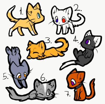 5 point adopts! by Bluestar1991