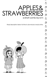 Comic: Apples and Strawberries by e1n