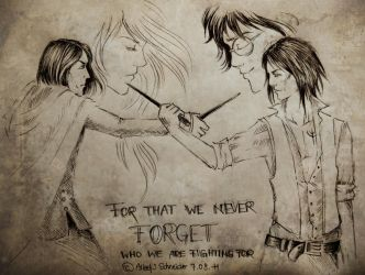 For that we never forget... by FarrahPhoenix